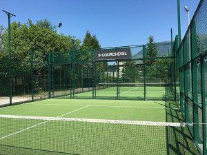 cour de tennis courchevel